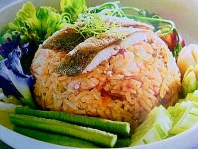 ข้าวผัดปลาทูหอม