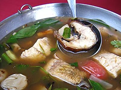 ต้มโคล้งปลากระทิง