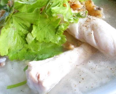 ข้าวต้มปลากะพง
